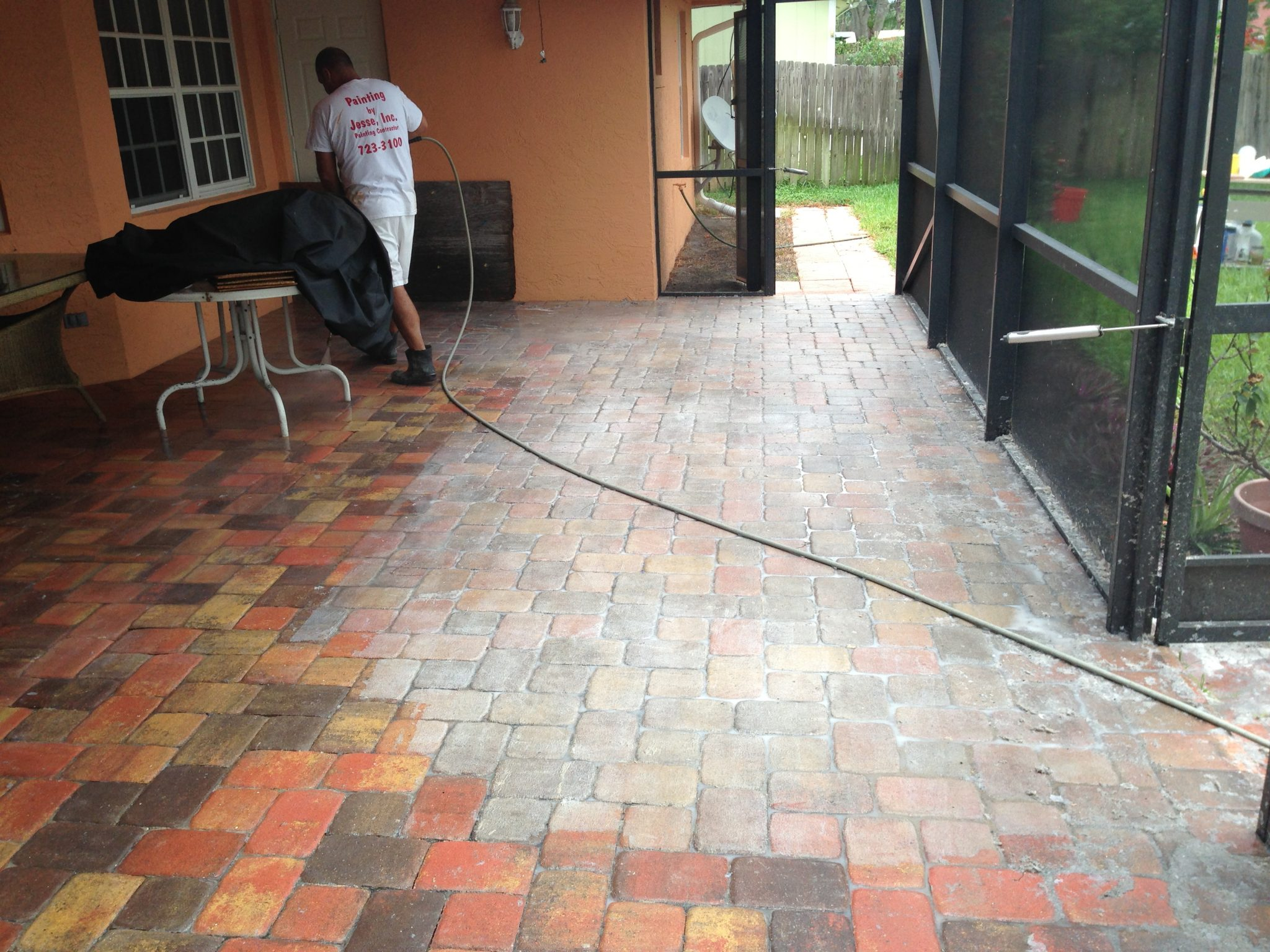 Orlando FL Patio Sealant Brick Paver Sealing Cleaning