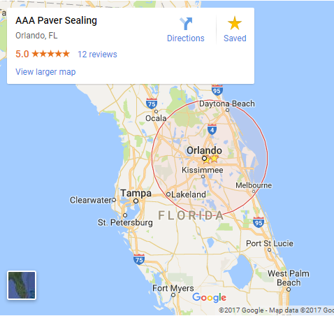 AAA Paver Sealing Central Florida